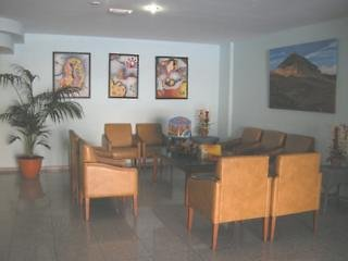 Las Floritas, Lounge/Empfang